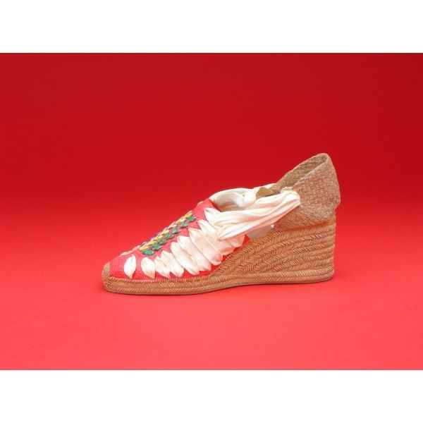 Figurine chaussure miniature collection just the right shoe espadrille pasha - rs25328