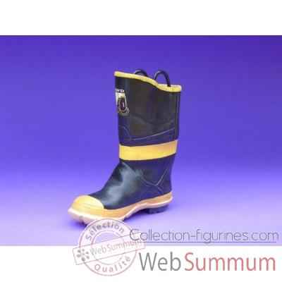 Figurine chaussure miniature collection just the right shoe firefighter boot  - rs25312fb