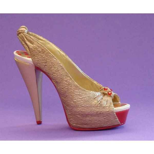 Figurine chaussure miniature collection just the right shoe glamour girl   - rs810223