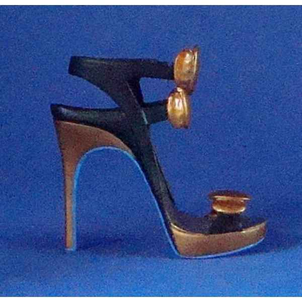 Figurine chaussure miniature collection just the right shoe hammered   - rs100518