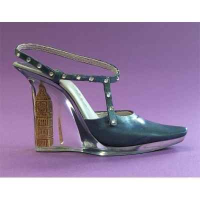 Figurine chaussure miniature collection just the right shoe high time   - rs26035