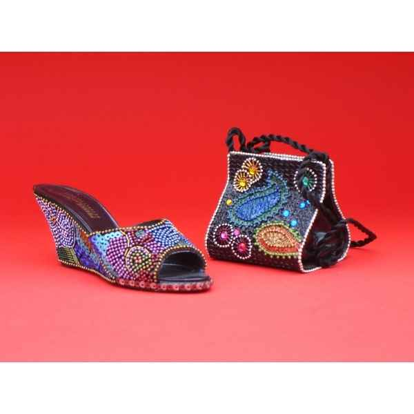 Figurine chaussure miniature collection just the right shoe jewels collectors set - rs25752