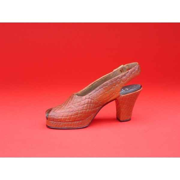 Figurine chaussure miniature collection just the right shoe in scale  - rs25110