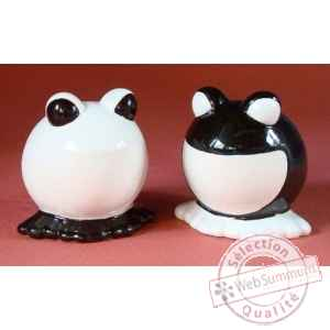 Figurine menagerie de table - grenouilles  - spm04