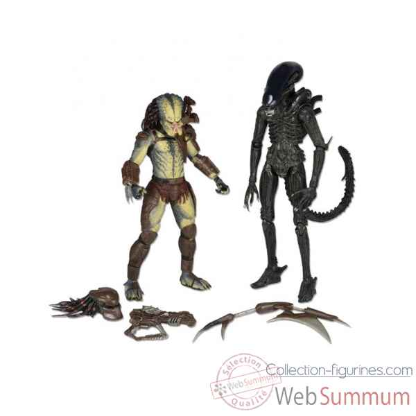 Alien vs predator: 2 figurines -NECA51384