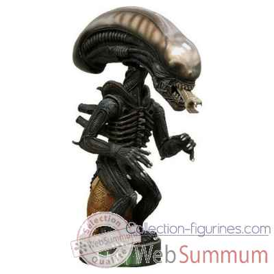 Alien warrior figurine extreme head knocker -NECA31930