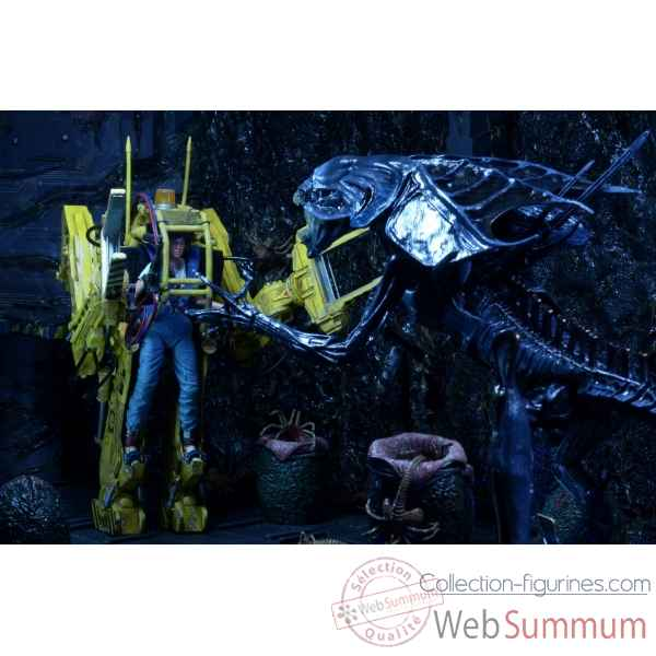 Aliens: figurine power loader (p 5000) - deluxe vehicle -NECA51416