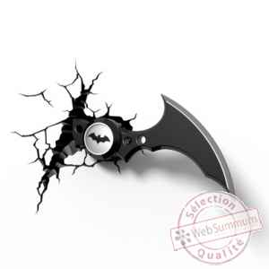 Applique dc comics: batarang 3d -GAGG0374