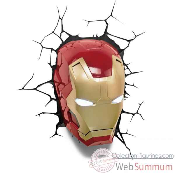 Applique marvel: iron man 3d -GAGG082