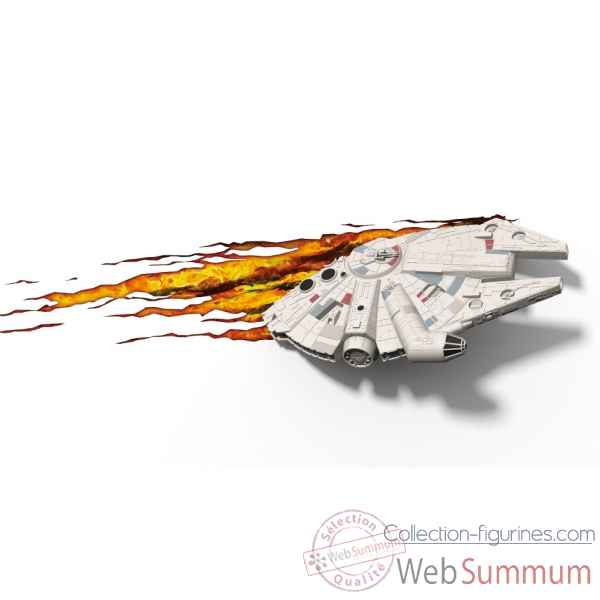 Applique star wars: millenium falcon 3d -GAGG0287