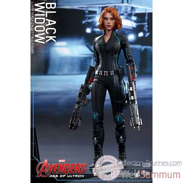 Avengers age of ultron - figurine black widow echelle 1/6 -SSHOT902371