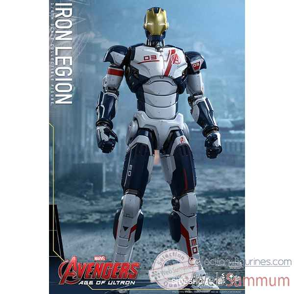Avengers age of ultron - figurine iron legion echelle 1/6 -SSHOT902425