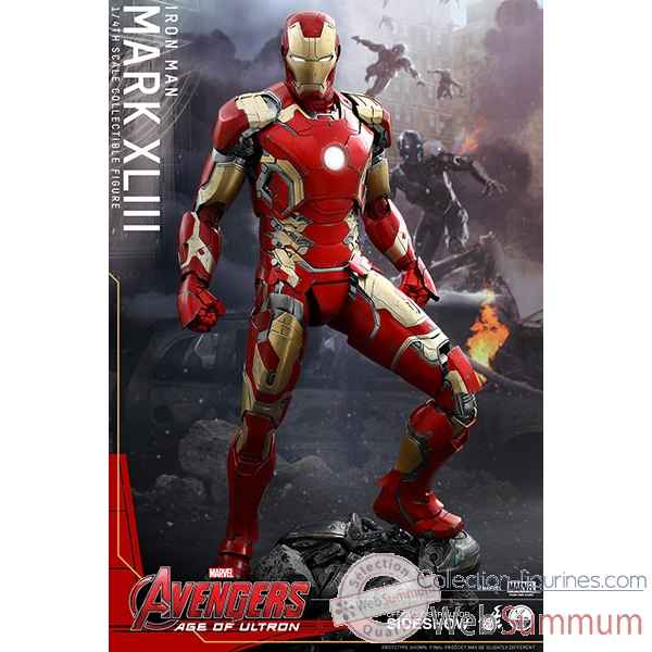 Avengers age of ultron - figurine iron man mark xliii echelle 1/4 -SSHOT902383