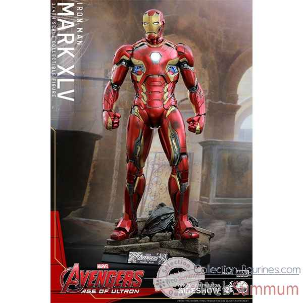 Avengers age of ultron: figurine iron man mark xlv echelle 1/4 -SSHOT902496