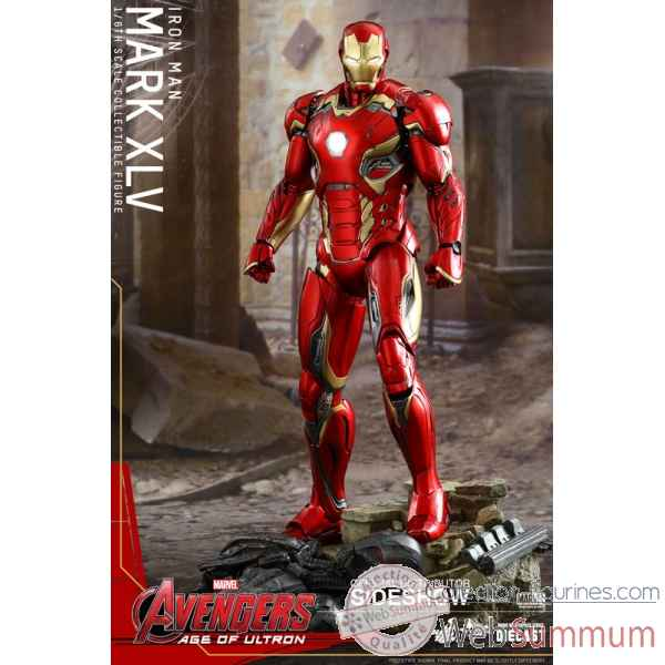 Avengers age of ultron: - figurine iron man mark xlv echelle 1/6 diecast -SSHOT902424