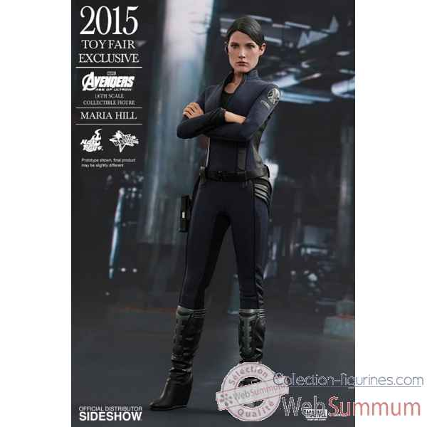 Avengers age of ultron: figurine maria hill echelle 1/6 -SSHOT902498