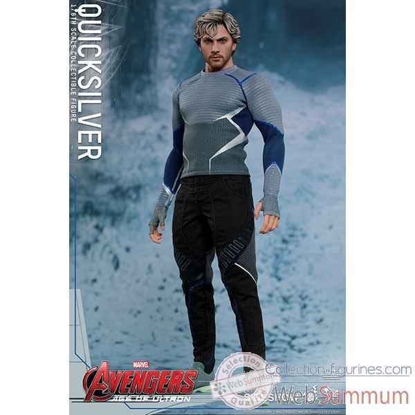 Avengers age of ultron figurine quicksilver echelle 1/6 -SSHOT902521