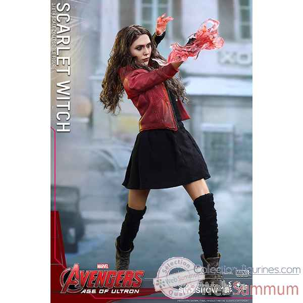 Avengers age of ultron - figurine scarlet witch echelle 1/6 -SSHOT902440