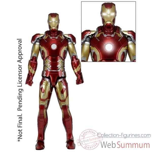 Avengers age of ultron - iron-man mark 43 figurine echelle 1/4 -NECA61415