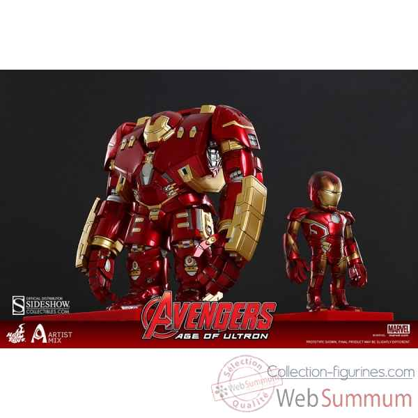 Avengers age of ultron - series 1 - hulkbuster and bd mark xliii - artist mix -SSHOT902340