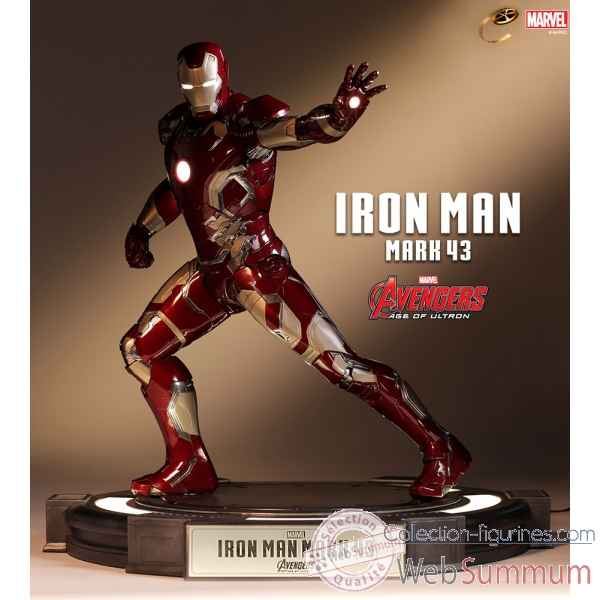 Avengers age of ultron: statuette iron man mark 43 -TOY0024