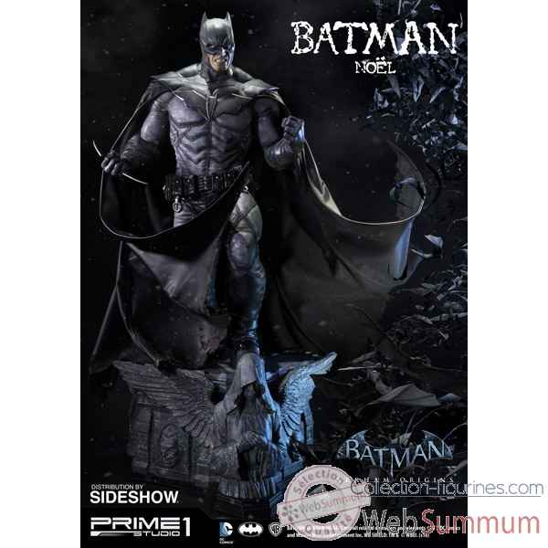 Batman arkham origins: statue batman noel -SS902583