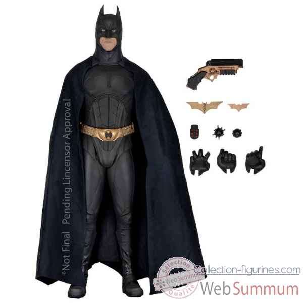 Batman begins: batman figurine echelle 1/4 -NECA61429
