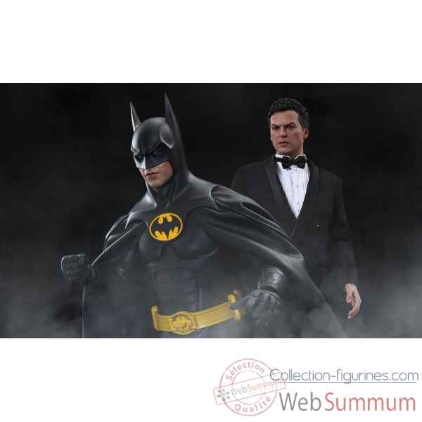 Batman returns - figurine set batman et bruce wayne echelle 1/6 -SSHOT902400