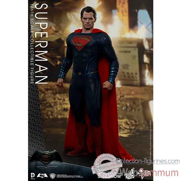 Batman v superman : l\'aube de la justice: figurine superman echelle 1/6 -SSHOT902608