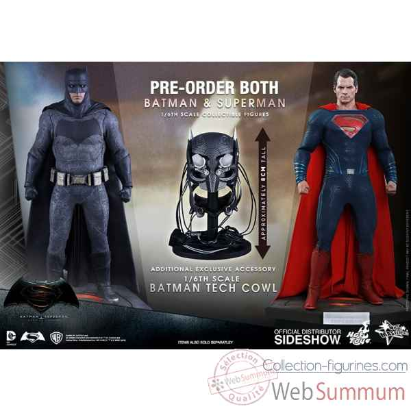 Batman v superman : l\'aube de la justice: set figurine echelle 1/6 edition limite -SSHOT9026SET