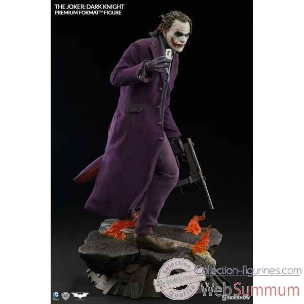 Batman the dark knight: statue joker premium format -SS300251