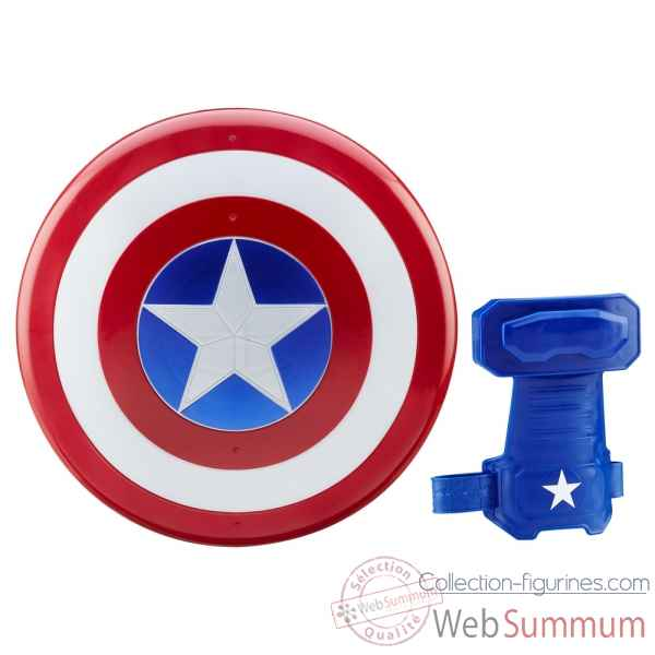 Bouclier magnetique et gant captain america: civil war -HASB5782EU4
