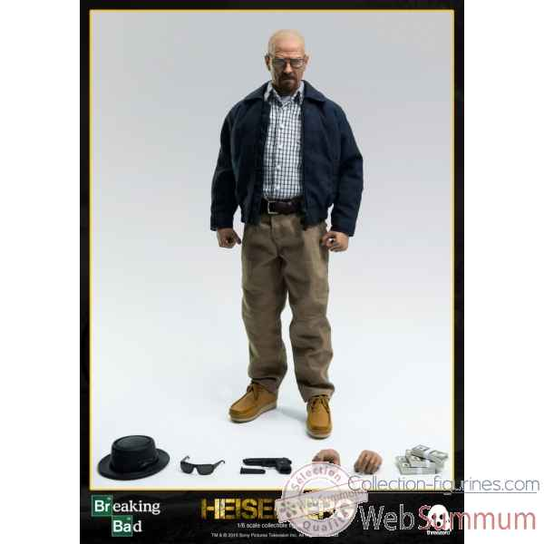 Breaking bad: figurine heisenberg echelle 1/6 -3ATZBB001