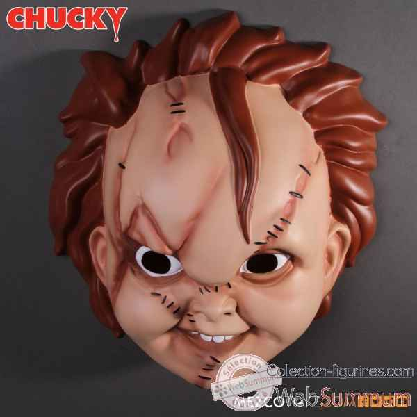 Bride of chucky: masque chucky -MEZ78160