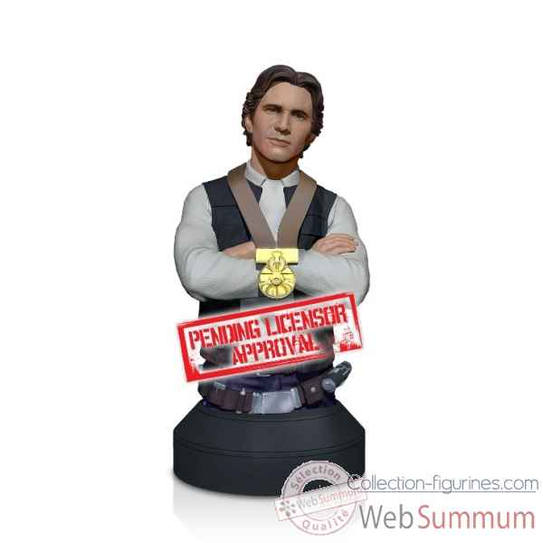 Buste han solo hero of yavin star wars -GGI80464