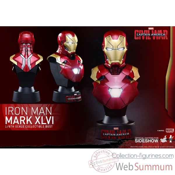 Buste iron man mark xlvi captain america civil war -SSHOT902659