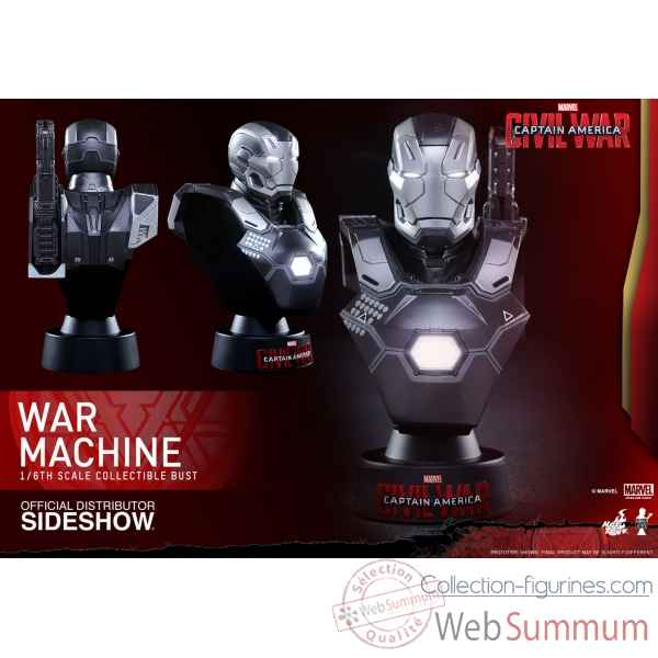 Buste war machine mark iii captain america civil war -SSHOT902658