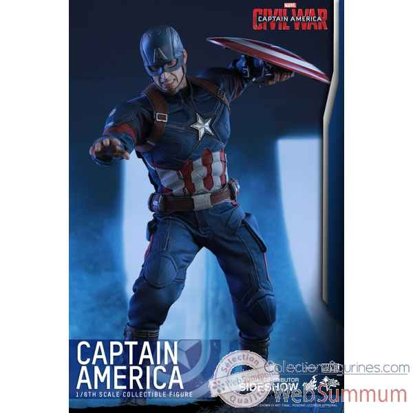 Captain america - civil war: figurine captain america echelle 1/6 -SSHOT902657
