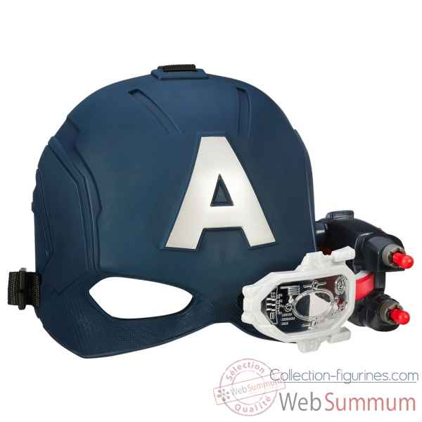 Casque avec lunette de visee marvel captain america: civil war -HASB5787EU4