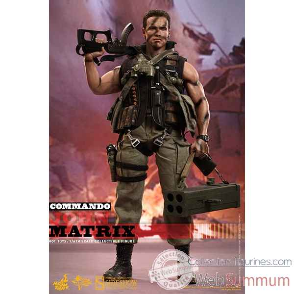 Commando: figurine john matrix echelle 1/6 -SSHOT902306