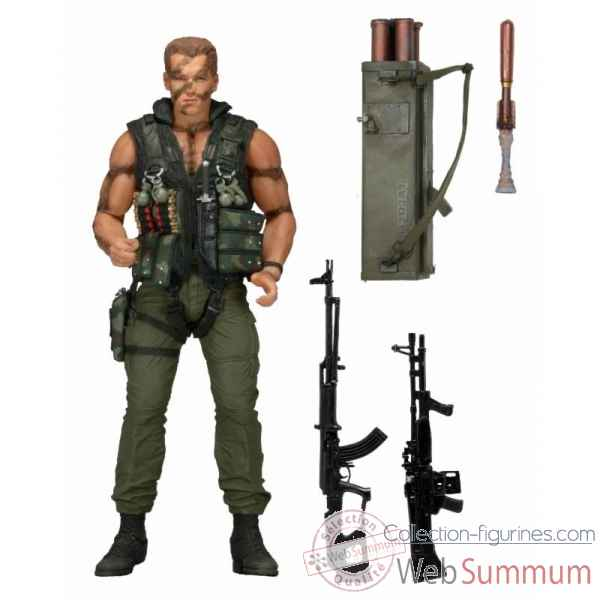 Commando: figurine john matrix -NECA42140