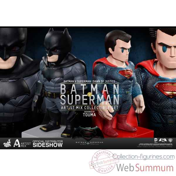 Dc comics: figurine batman & superman bobblehead -SSHOT902640