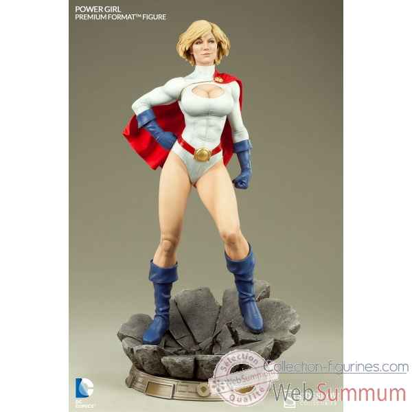 Dc comics: figurine power girl premium format -SS300204