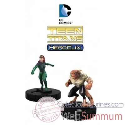 Dc heroclix: figurine the teen titans the ravagers -NECA70932