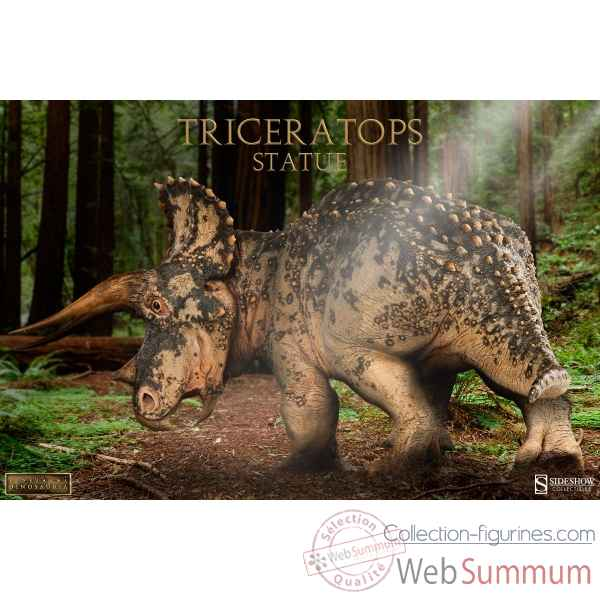Dinosauria: statue triceratops -SS200362
