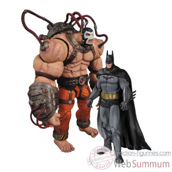 Figurine batman arkham city batman vs bane -DIAJUN130320