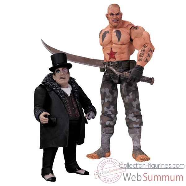 Figurine batman arkham city sickle et pingouin -DIAJUN130319