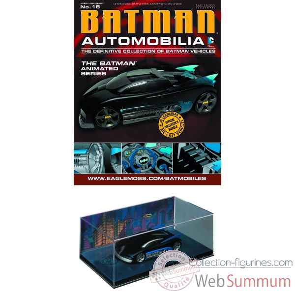 Figurine batman: automobilia #18 voiture batmobile the batman animated -DIAJUL131445