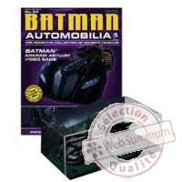 Figurine batman & robin: 1:43 voiture batmobile with magazine -DIAMAR141581