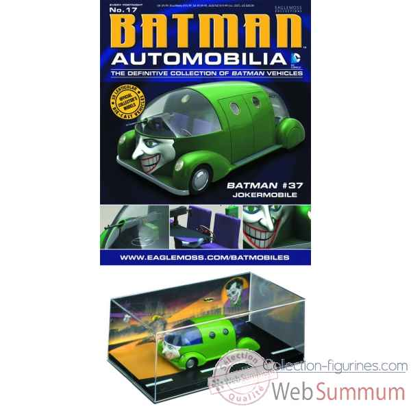 Figurine collection automobilia voiture du joker batman -DIAJUN131441